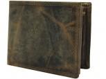 GULLIOMODA® Geldbörse im Querformat (594) Braun